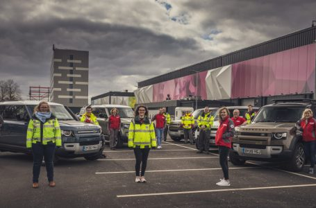 Motor : Jaguar and Land Rover deploy global fleet to support emergency response partners for the coronavirus crisis